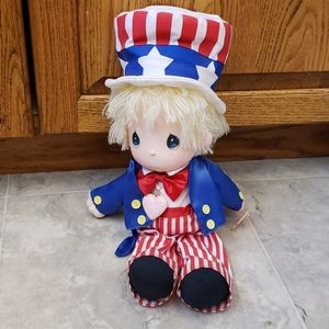 NWT Precious Moments 4th of July Doll